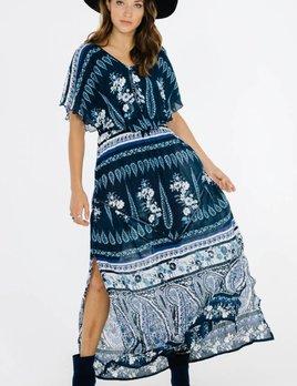 Raga LA Raga Luisa Ruffle Dress Navy