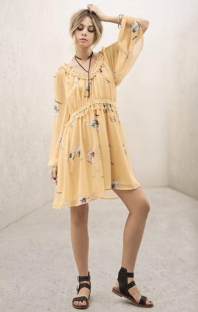 Moon River Moon River Yellow Dress