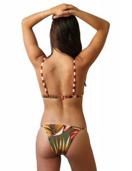 Serendiptiy Serendiptiy Palms Print Triangle Bikini Bottom