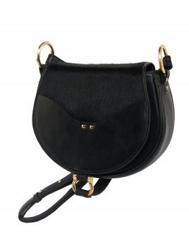 Sancia Sancia The Elysian BLACK / PONY purse