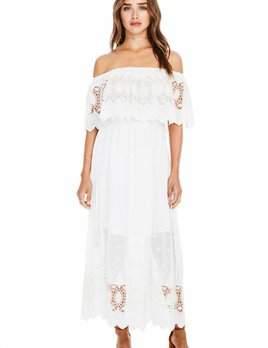 ASTR ASTR Tatiana Dress Ivory