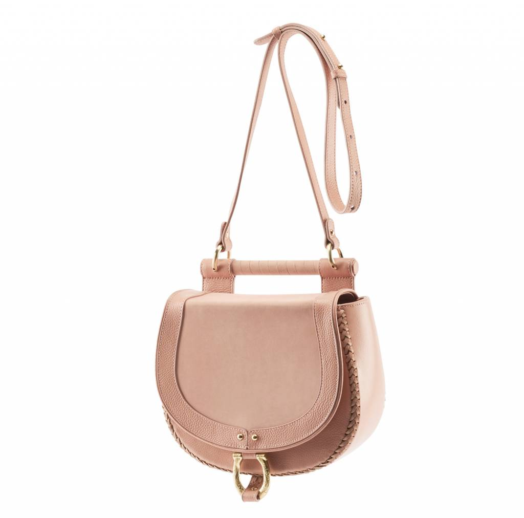 Sancia Sancia Babylon Bar Bag Nubuck Canyon Rose