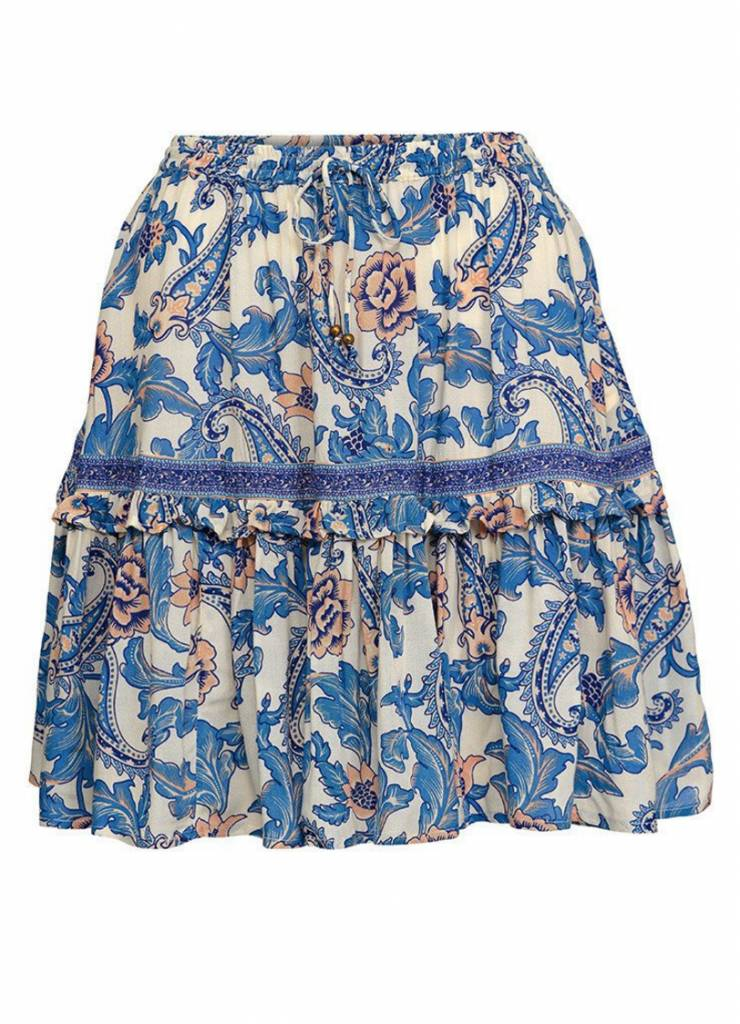 Spell and the Gypsy Collective Spell Etienne Mini Skirt - Monaco