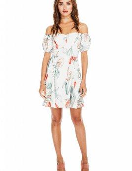 ASTR ASTR Shoshanna Dress Multi Floral
