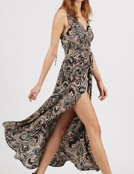Cleobella Cleobella Henna Wrap Dress