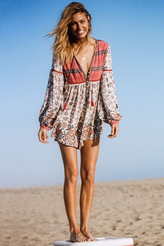 Spell and the Gypsy Collective Spell Elle Romper Rosewood