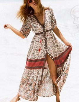 Spell and the Gypsy Collective Spell Elle Gown Rosewood