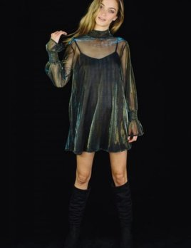 Lenni the Label Lenni Chemical Dress Metallic