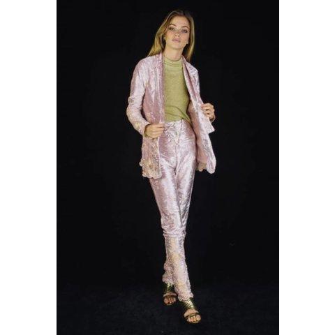 Lenni Rumi Pants Pink Velvet
