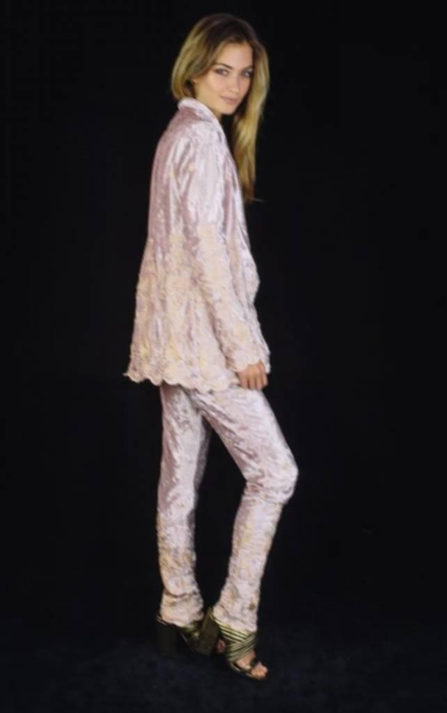 Lenni the Label Lenni Rumi Pants Pink Velvet