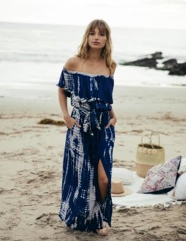 Sage the Label Sage the Label Navy Isabella Maxi