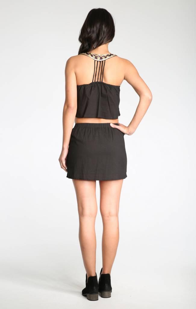 Raga LA Raga Cleo Skirt Black