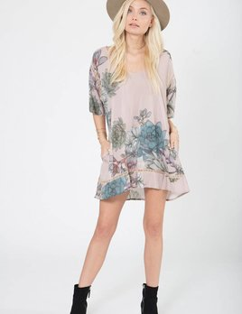 Stillwater LA Stillwater Pocket Tunic Dress Plants of Paradise