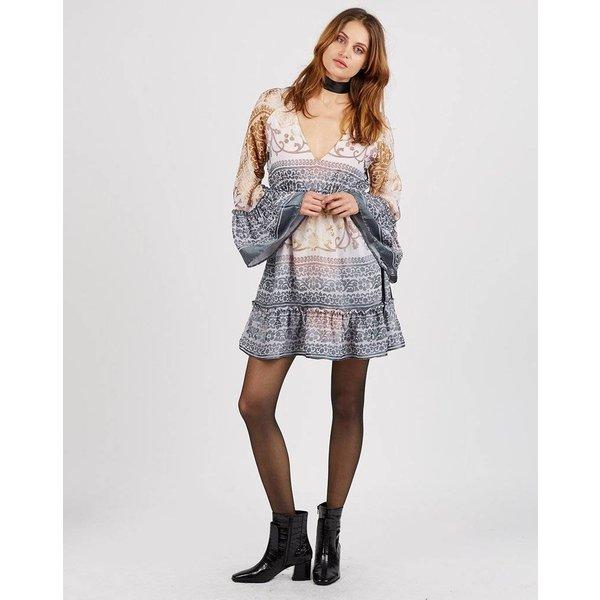 Cleobella Cleobella Serenity Dress Silver Moon