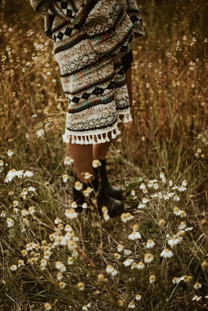 Raga LA Raga Running Rampant Tassel Sweater