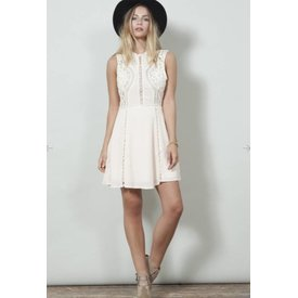 WYLDR WYLDR Lets Dance Tea Dress Blush