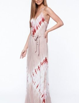 Young, Fabulous & Broke Clothing YFB Carla Maxi Dress Mocha Rust