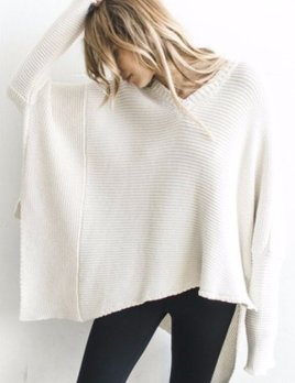 Joah Brown Joah Brown Layer Me Pullover Ivory