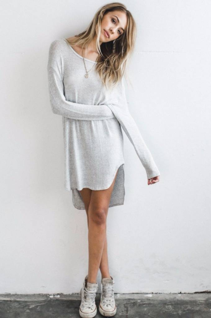 Joah Brown Joah Brown Knightingale Tunic Dress Chalk