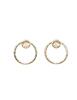 2 Bandits 2Bandits Circle Game Earrings