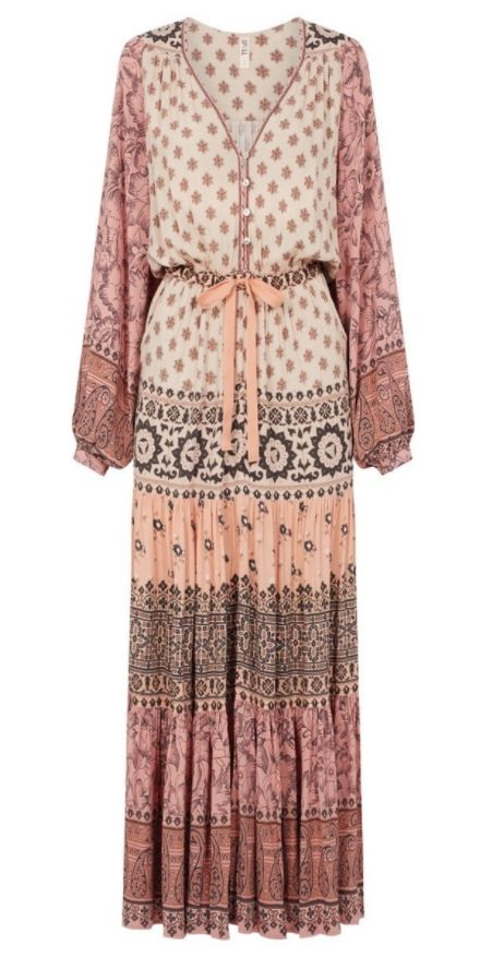 Spell and the Gypsy Collective Spell Lionheart Gown Sundown