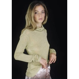 Lenni the Label Lenni Illusion Top Gold Knit