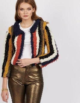 Cleobella Cleobella Isobel Shaggy Jacket Multicolor