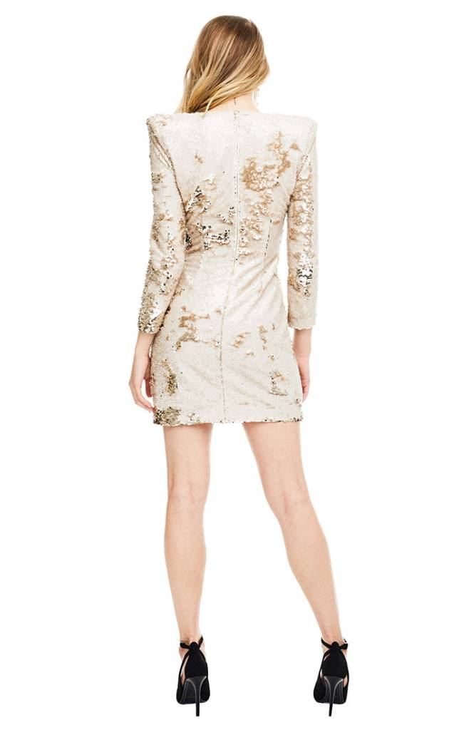 ASTR ASTR Blithe Dress Gold Two Tone