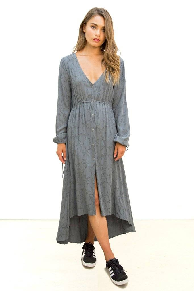 Saltwater Luxe Saltwater Luxe Knockout Maxi Dress Jacquard