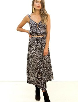 Saltwater Luxe Saltwater Luxe Charmed Maxi Skirt Bandana