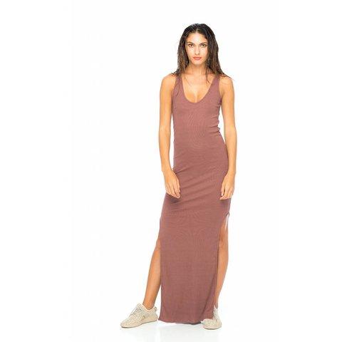 Indah Maxi Tank Dress Blush