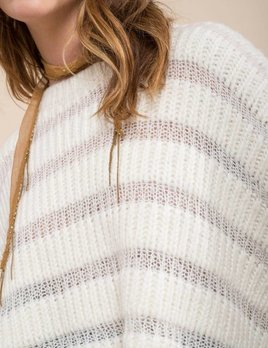 Moon River Ivory Chunky Sweater