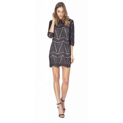 Gentle Fawn Lace Mini Dress