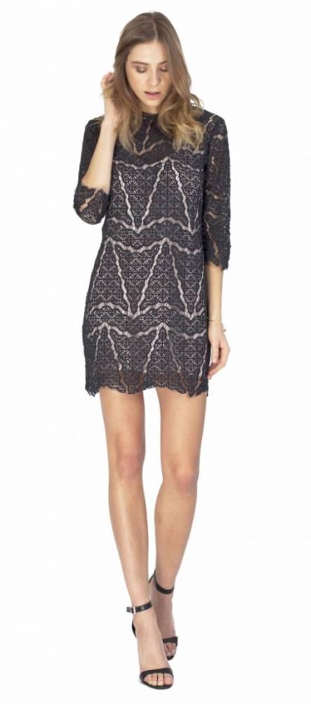 Gentle Fawn Gentle Fawn Lace Mini Dress