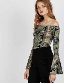 Cleobella Cleobella Nadi Bodysuit Venetian Mosaic