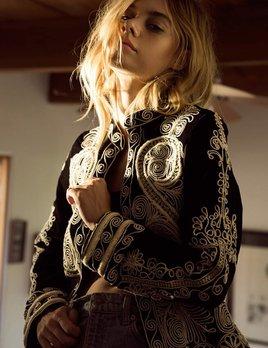 Raga LA Raga Visionary Vevet jacket Black