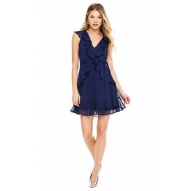 ASTR ASTR Brynn Dress Navy Sparkle
