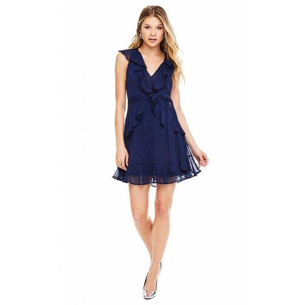ASTR ASTR Brynn Dress Navy Sparkle