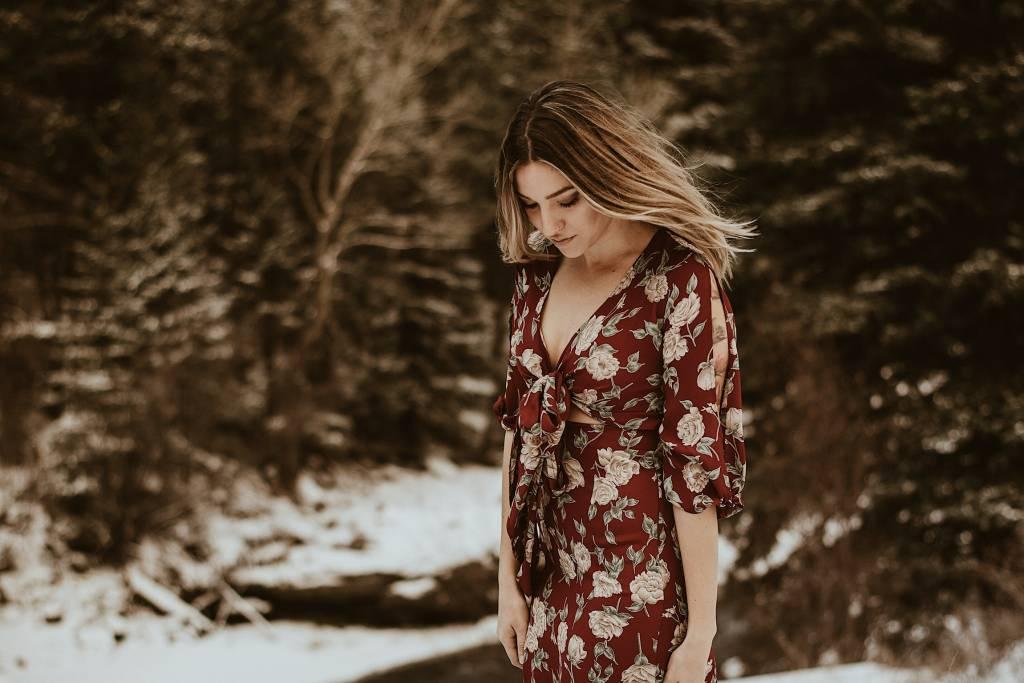 Flynn Skye Flynn Skye Gigi Dress Red Roses