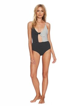 Beach Riot Beach Riot Leah One Piece Black/White