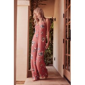 Sage the Label Sage the Label Quinn Jumpsuit Dusty Rose