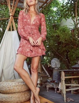 Sage the Label Sage the Label Alegra Dress Terracotta