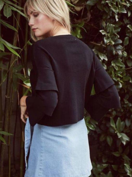 Sage the Label Sage the Label Noelle Sweater Black
