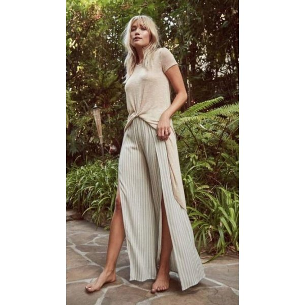 Sage the Label Sage the Label Aaliyah Pant Olive Print