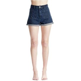 Rollas Rollas Sailor Duster Jean Short in Big Blue
