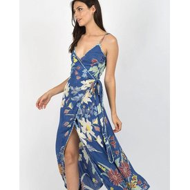 Cleobella Cleobella Owen Dress Blue Rhapsody