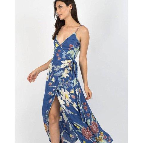 Cleobella Owen Dress Blue Rhapsody