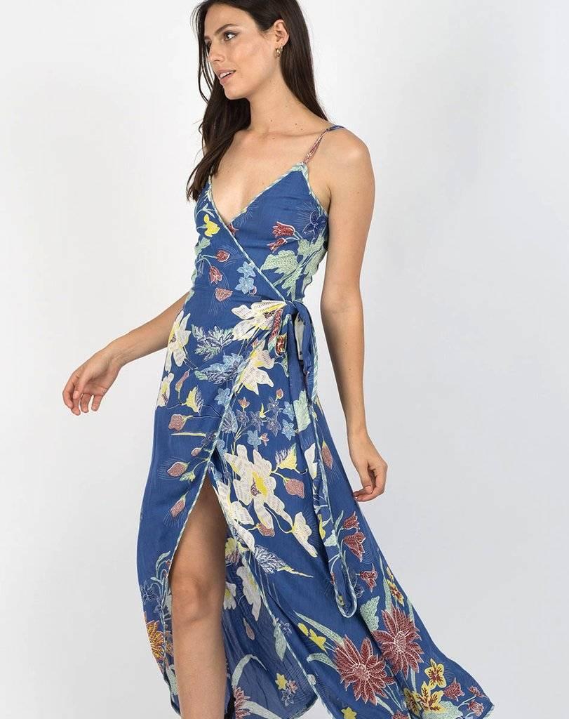 Cleobella Cleobella Owen Dress Blue Rhapsody