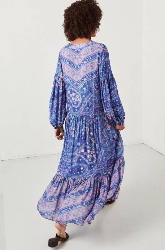 Spell and the Gypsy Collective Spell City Lights Gown - Indigo