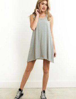 Saltwater Luxe Saltwater Luxe Now Or Never Mini Stripe Dress